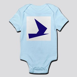 Abstract Blue Bird Body Suit