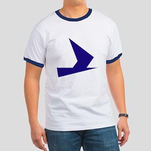 Abstract Blue Bird T-Shirt
