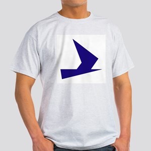 Abstract Blue Bird T-Shirt
