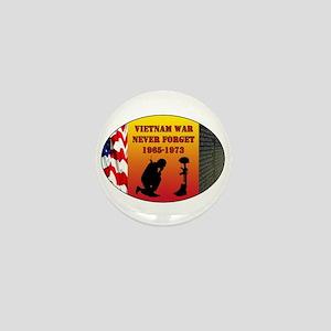 Vietnam War Memorial Mini Button