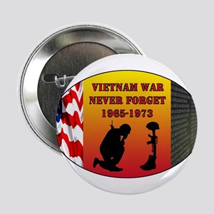 "Vietnam War Memorial 2.25"" Button"