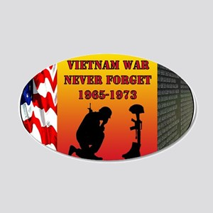 Vietnam War Memorial Wall Decal