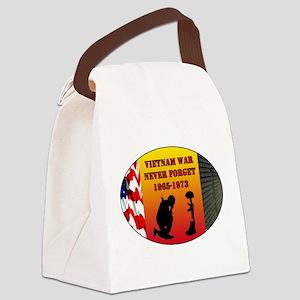 Vietnam War Memorial Canvas Lunch Bag