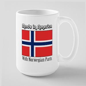 Norwegian Parts Large Mug