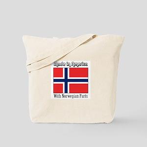 Norwegian Parts Tote Bag