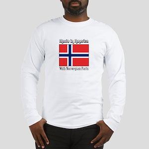 Norwegian Parts Long Sleeve T-Shirt