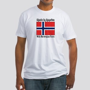 Norwegian Parts Fitted T-Shirt