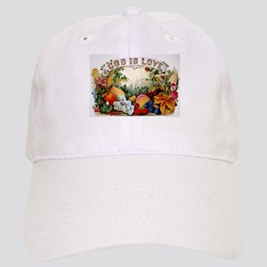 God is love - 1874 Baseball Cap