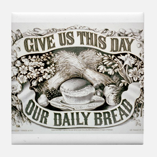 Give us this day our daily bread - 1872 Tile Coast