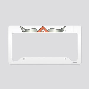 Combustible License Plate Holder