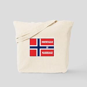 Norwegian by Marriage Tote Bag