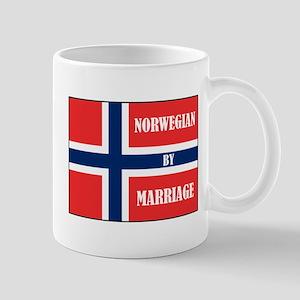 Norwegian by Marriage Mug