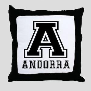 Andorra Designs Throw Pillow