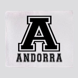 Andorra Designs Throw Blanket