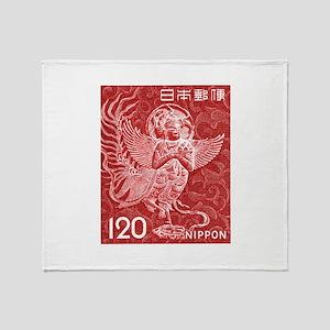 Vintage 1966 Japan Kalavinka Bird Postage Stamp Th