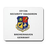 6913TH SECURITY SQUADRON Mousepad
