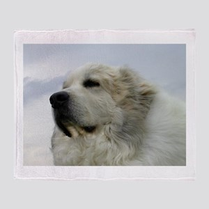 Great Pyrenees Throw Blanket