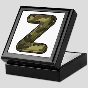 Z Army Keepsake Box