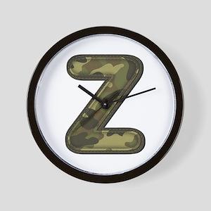 Z Army Wall Clock