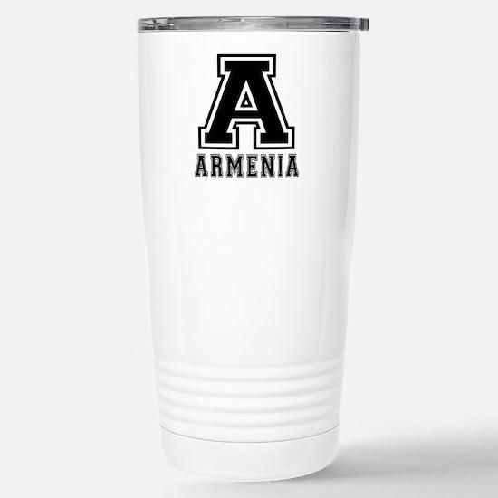 Armenia Designs Stainless Steel Travel Mug
