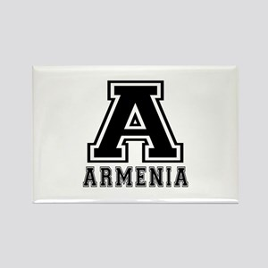 Armenia Designs Rectangle Magnet