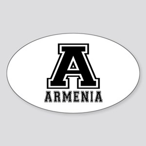 Armenia Designs Sticker (Oval)