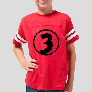 15x15 NUM3 TRNS Youth Football Shirt