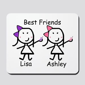 Phones - Best Friends Mousepad