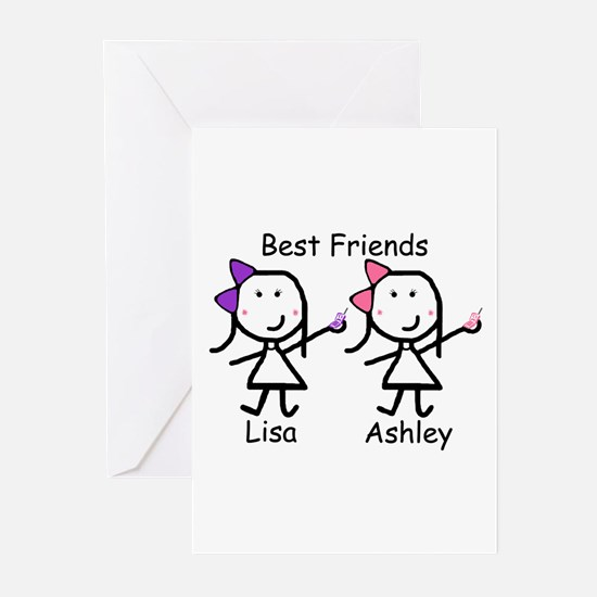 Phones - Best Friends Greeting Cards (Pk of 10