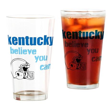 ky football Drinking Glass