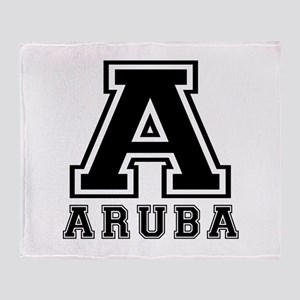Aruba Designs Throw Blanket