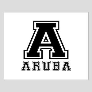 Aruba Designs Small Poster