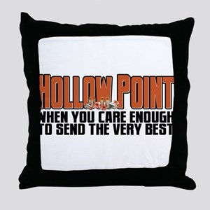 When You Care Enough Throw Pillow