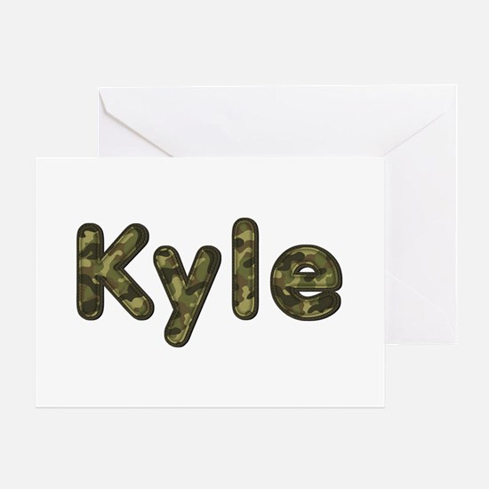 Kyle Army Greeting Card