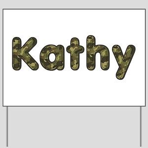 Kathy Army Yard Sign