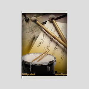 Drums Art 2 Rectangle Magnet