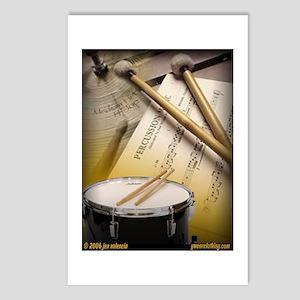 Drums Art 2 Postcards (Package of 8)