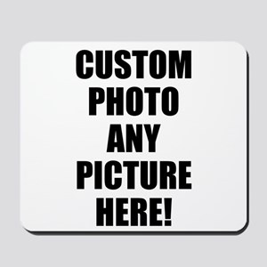 Custom Photo Upload Your Own Picture Mousepad