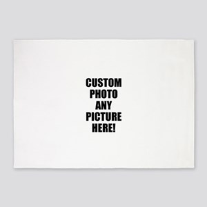 Custom Photo Upload Your Own Picture 5'x7'Area Rug