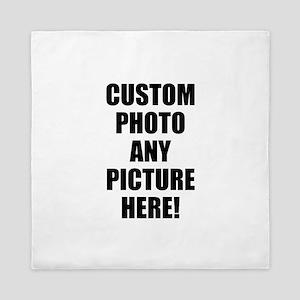 Custom Photo Upload Your Own Picture Queen Duvet