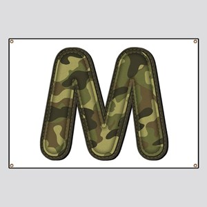 M Army Banner