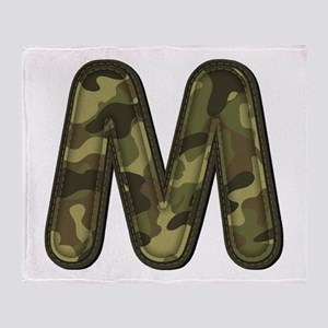 M Army Throw Blanket