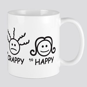 From Crappy to Happy Mug