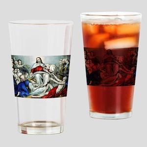 Christus consolator - 1856 Drinking Glass