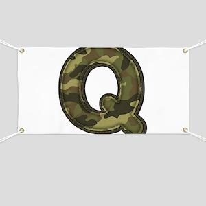 Q Army Banner
