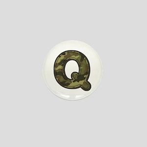 Q Army Mini Button