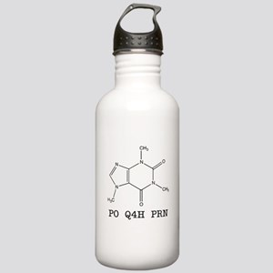 Stainless Water Bottle 1.0L - Caffeine Molecule Pr