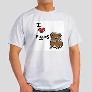I Love Piggies T-Shirt
