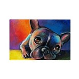 French bulldog Single