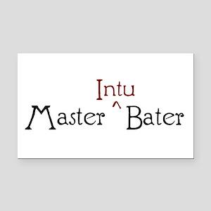 Master Intubater Rectangle Car Magnet